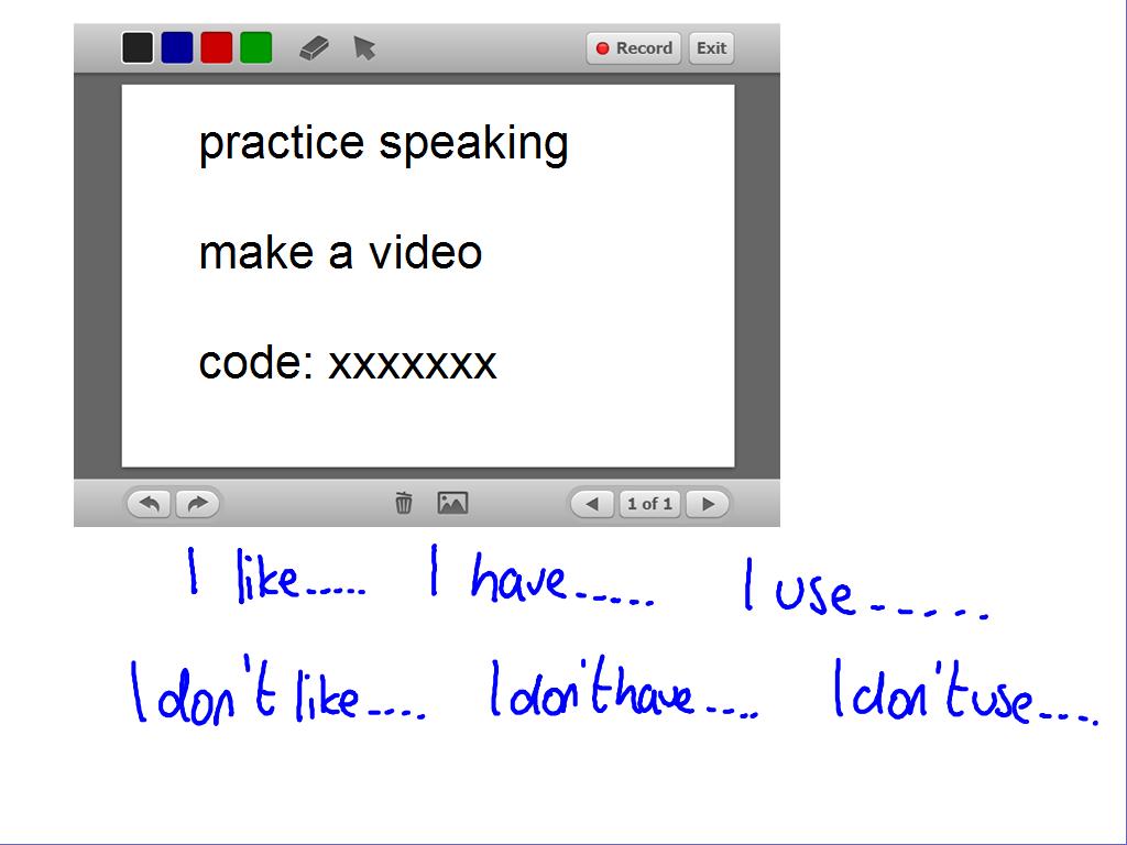 language prompts